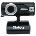 Вебкамера Dialog WC-15U Black