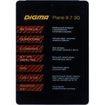 Планшет Digma Plane 9.7 3G MTK8382 Dark-Blue (PS9770MG)