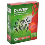 Антивирус Dr. Web Security Space 2 ПК, 1 год BOX (BHW-B-12M-2-A3)