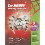 ПО Dr.Web Security Space (box) с правом установки на 2 ПК