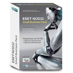 Антивирус ESET NOD32 Small Business Pack BOX Рус. (NOD32-SBP-NS(BOX)-1-10)