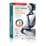 Антивирус ESET NOD32 Smart Security + англо-русский словарь лицензия на 1 год на 3ПК
