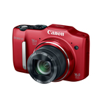 Фотоаппарат Canon PowerShot SX160 IS Red