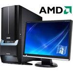 Компьютер Nvidia MOBA AMD Ryzen 3 Pro 3200G/2x8 DDR4/HDD 1000Gb+SSD 120Gb/GeForce GTX 1050 Ti 4GB/500W