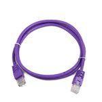 Патч-корд Gembird PP12-1M/V UTP кат.5e, 1.0 м, Violet
