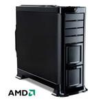 Компьютер офисный HAFF Optima (AMD E350/A68/2/500/DVD-RW/400W)