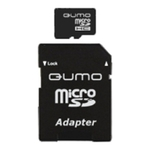 Карта памяти 16GB MicroSD QUMO QM16MICSDHC10