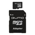 Карта памяти 32GB MicroSD QUMO QM32MICSDHC10