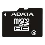Карта памяти 4GB MicroSD A-Data (AUSDH4GCL4-RA1)