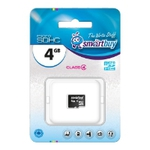 Карта памяти 4Gb SmartBuy SB4GBSDCL4-00