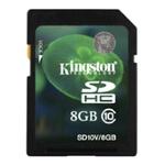 Карта памяти Kingston SDHC (Class 10) 8GB (SD10V/8GB)