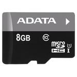 Карта памяти 8GB MicroSD A-Data Premier (AUSDH8GUICL10-R)