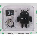 Карта памяти 8GB MicroSD QUMO QM8GCR-MSD10-FD Black