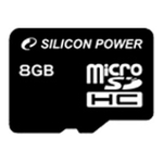 Карта памяти 8GB MicroSD Silicon Power SP008GBSTH010V10