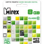 Карта памяти 8Gb MIREX 13612-MC10SD08