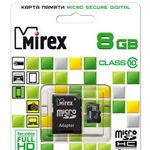 Карта памяти 8Gb MIREX 13613-AD10SD08