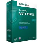 Kaspersky Anti-Virus 2015. 2-Desktop 1 year Base Retail Pack