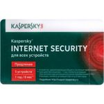 Kaspersky Internet Security - Multi-Device. 5-Device 1 year Renewal Retail Pack