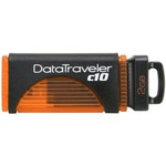 2GB USB Drive Kingston DTC10 Orange