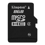 Карта памяти 8GB MicroSD Kingston SDC4/8GBSP