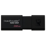 32GB USB Drive Kingston DT100G3 Black