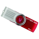 8GB USB Drive Kingston DataTraveler 101 G2 (DT101G2/8GB) Red