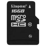 Карта памяти 16GB MicroSD Kingston Class 10 SDHC