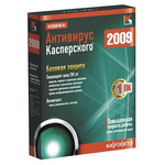 Kaspersky Internet Security 2009 Russian Edition, 1-Desktop 1 year Base Box