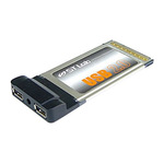 Контроллер ST-Lab C-111 PCMCIA/Cardbus USB 2,0 2port Adapter ,Retail