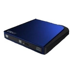DVD-RW Lite-On ESAU108-86, USB, лоток, Slim, синий