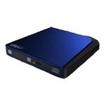 DVD-RW Lite-On ESAU108-86, USB, лоток, Slim, синий