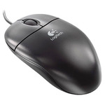 Мышь Logitech S-96 Optical Wheel PS/2 Black