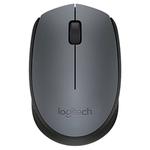 Мышь Logitech M170 Wireless Mouse Gray/Black [910-004642]