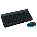 Клавиатура+Mышь Logitech Wireless Combo MK240 Black