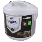 Мультиварка Marta MT-4308 White/Stal