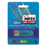 8GB USB Drive Mirex ELF Blue (13600-FMUBLE08)