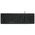 Клавиатура Nakatomi KN-03U Black USB