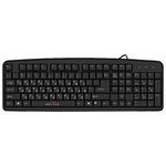 Клавиатура Oklick 100M Black PS, 2