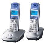 Беспроводной телефон Panasonic KX-TG2512 серебристый