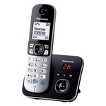 Телефонный аппарат Panasonic стандарта DECT KX-TG6821RUB Black
