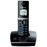 Телефонный аппарат Panasonic стандарта DECT KX-TG8061RUB