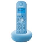 Беспроводной телефон Panasonic KX-TGB210 голубой