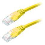 Кабель Patch Cord UTP кат.5е 1м Yellow