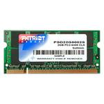 Память SO-DIMM 2048Mb DDR2 Patriot