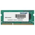 Память SO-DIMM 4096Mb DDR3 Patriot PC-12800