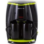 Кофеварка POLARIS PCM 0210 Black/Green