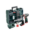 Дрель-шуруповёрт Metabo PowerMaxx BS Quick Pro Set 600157880 (уцененный товар)