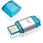4GB USB Drive PQI Traveling Disk i178 Blue