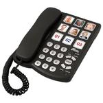 Проводной телефон RITMIX RT-500 Black