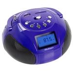 Аудиомагнитола Rolsen RBM411VI Purple